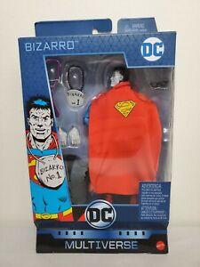 "DC Comics Universe MULTIVERSE 6"" BIZARRO Superman Walgreens Exclusive FIGURE NEW"