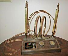 Vintage Rembrandt Tv Antenna/Rabbit Ears Mid Century Atomic Design