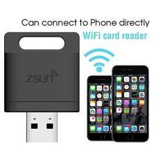 ZSUN Wifi Flash Micro SD USB 2.0 Smart TF Card Reader For Phone Tablet Pad B TL