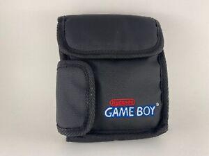 Vintage Official Nintendo Game Boy Color Black Carrying Case Pouch Travel Bag