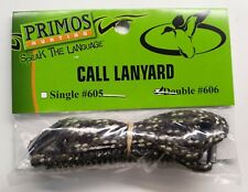 Primos Double Call Lanyard Model 606 With Spacers