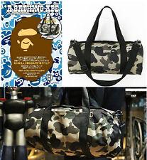 A Bathing Ape Bape 1ST Camo Shoulder Handbag Cylinder Bag Not Included Magazine