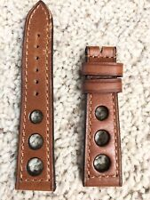Steinhart Leather Raceband Cognac 22mm Straps for Tudor Paul Newman