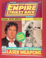 STAR WARS EMPIRE STRIKES BACK OFFICIAL POSTER MONTHLY 5 Ralph McQuarrie magazine
