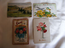 American Postcards (4) Yellow Stone Park / Greetings /Easter / Smiles 1911 /1915