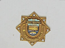 Greyhound Bus 2 Year Dependable Driver Employee Pin 8 Pearls , (#04)(B)(*)