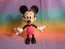 2016 Mattel Disney Minnie Mouse Push Button Moveable Arms Figure - as is
