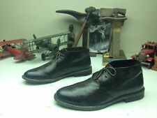 ADAM DERRICK ITALY TO BOOT NEW YORK BROWN LEATHER LACE UP ENGINEER BOSS BOOTS 10
