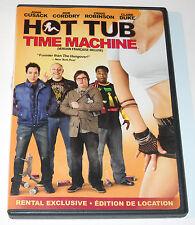 Hot Tub Time Machine DVD 2010 John Cusack Rob Corddry Craig Robinson Used