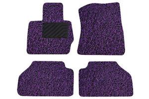 Broadfeet Custom Floor Mats - Black/Purple - BMGM-1051-BKPP