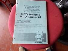 MANUALE OFFICINA CAGIVA 125 MITO REPLICA 2 RACING 93 Cartaceo