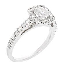 Diamond Band White Gold 14k Fine Rings
