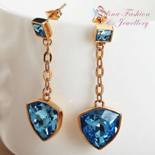 Copper Cubic Zirconia Rose Gold Filled Fashion Earrings
