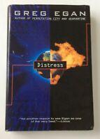 Distress by Greg Egan (1997, Hardcover)