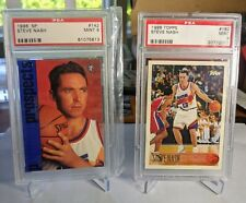 1996 SP #142 & Topps #182 Steve Nash Rookie RC Lot 🔥🔥🔥 INVEST