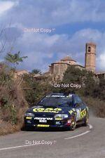 Colin McRae Subaru Impreza 555 Catalunya Rally 1995 Photograph
