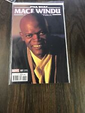 Star Wars Mace Windu Jedi Of The Republic #1 (2017) 1:10 Variant Marvel