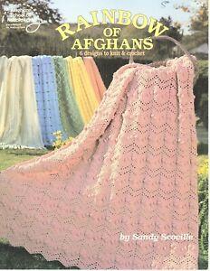 American School of Needlework - Rainbow if Afghans - Knit & Crochet Patterns