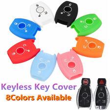 3 Button Silicone Remote Key Case Cover For Mercedes-Benz E/C/CL/GL/SLK Class