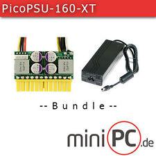 picoPSU-160-XT DC/DC (160 Watt) + AC/DC 120W Adapter