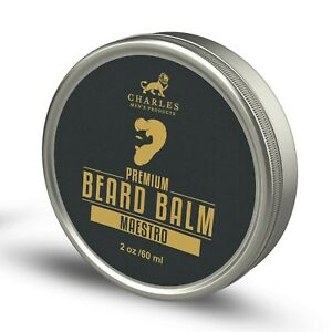Premium Beard Balm Butter and Conditioner | Shea Butter, Argan Oil, Jojoba Oil