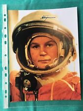 Autograph Valentina Tereshkova 1st Woman in space signed Original 8x10""