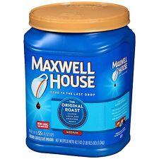 Maxwell House Ground Coffee, Original Roast (85 oz.)