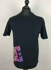 DC Shoes Company Mens Graphic Black T-Shirt Size Small Short Sleeve Minimalist