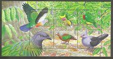 Salomoninseln Block 91 Vögel Tauben postfrisch