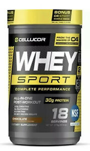 Cellucor Whey Sport Protein Powder Post Workout Recovery Drink Whey Protein