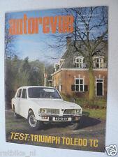 AUTOREVUE 1972-07,FIAT V8,TRIUMPH TOLEDO TC,MONZA EUROPA CUP,FORMULE 5000,LENNEP
