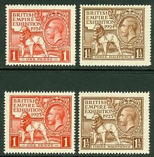 1924 & 1925 Wembley sets. Fine unmounted mint