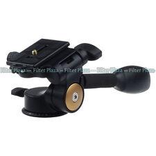 360°Handle Hydraulic Damping Three-dimensional 3-Way Pan Head For Tripod Monopod