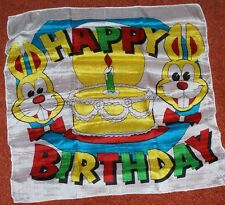 Picture Silk 18 inch - Happy Birthday - kidshow must-have prop Tmgs