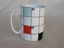 """Lenox Kate Spade - Say the Word - Puzzle Pattern  Mug  4 1/8"""" Tall Mug / Cup"""