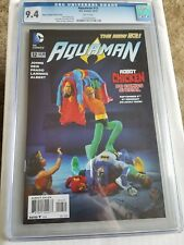 Aquaman #12 (2012) Robot Chicken Variant Cgc 9.4