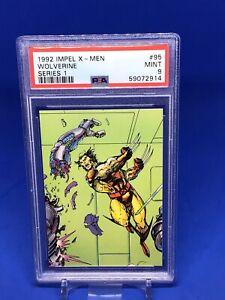 1992 Impel X-men Series 1 Wolverine PSA 9 #95