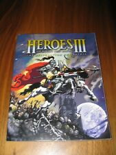 Heroes of Might and Magic III.The Restoration of Erathia. PLAYER MANUAL Only.3DO