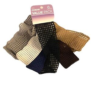 One Conair Comfort Stretch Headbands 6 Multi Color Bands.