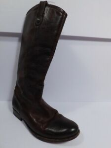 FRYE Women's Brown Leather Pull On Melissa Boot Sz 9