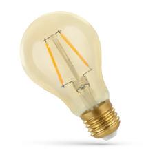 LED 'Glühbirne' augenschonend  E27 2W 270Lm Vintage extra-warmweiss amber gold