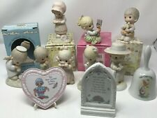 Vintage Precious Moments Lot of 12 Includes Precious Moments Story Book