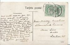 Family History Postcard - Mullins - Horn Lane - Aston - London - Ref 1286A