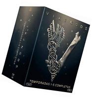 Vikings - Intégrale des saisons 1 à 5 Blu Ray - Import avec Audio Français