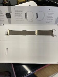 Apple 44mm Milanese Loop Watch Band - Gold