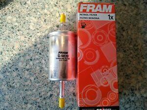 QUALITY FRAM FUEL FILTER - FITS: FORD FOCUS ST170 & 2.0i 16v (1998-2004)