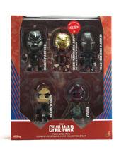 Hot Toys Cosbaby Captain America Civil War Team Iron Man 5-Figure Set Exclusive