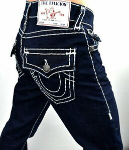 True Religion $219 Ricky Relaxed Straight Super T Jeans - MDA859N45C