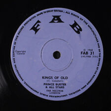 PRINCE BUSTER: Kings Of Old / Sweet Inspiration 45 (UK, '68) rare Reggae