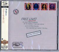 FREE-LIVE! +7-JAPAN SHM-CD BONUS TRACK D50